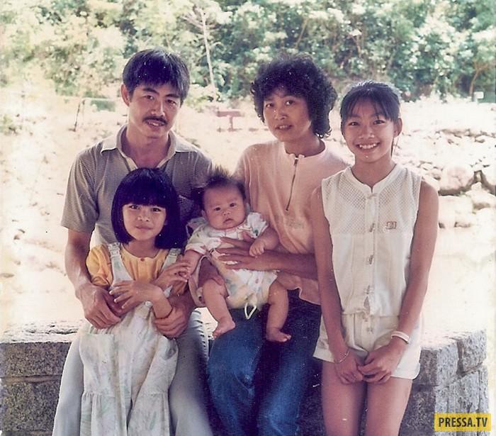 Счастливая семья эмигрантов. Гонконг, 1987 год. Чан и Ли официально не были женаты, но после всех тр