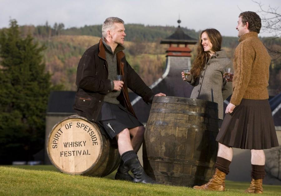 7. Фестиваль виски «Дух Спейсайда» Любители виски знают, что фестиваль их любимого напитка ежегодно