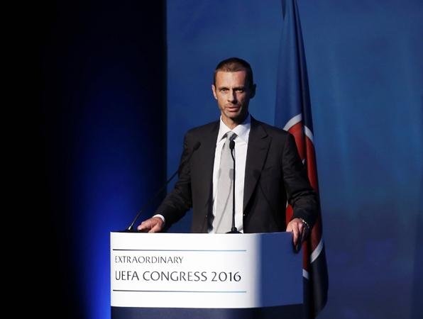 Новый президент УЕФА осенью посетит государство Украину