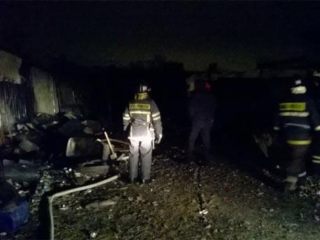 Трое мужчин вПодмосковье погибли впожаре вбытовке