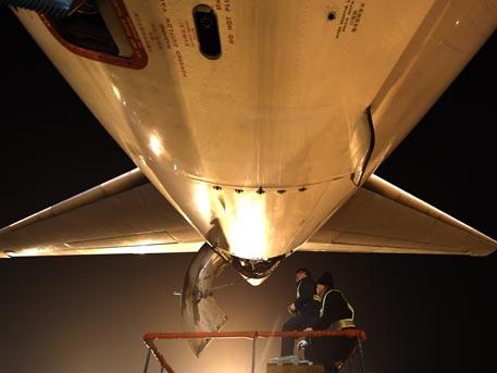 Вылет Boeing-737 изНовосибирска отложили из-за трудностей сзакрылками