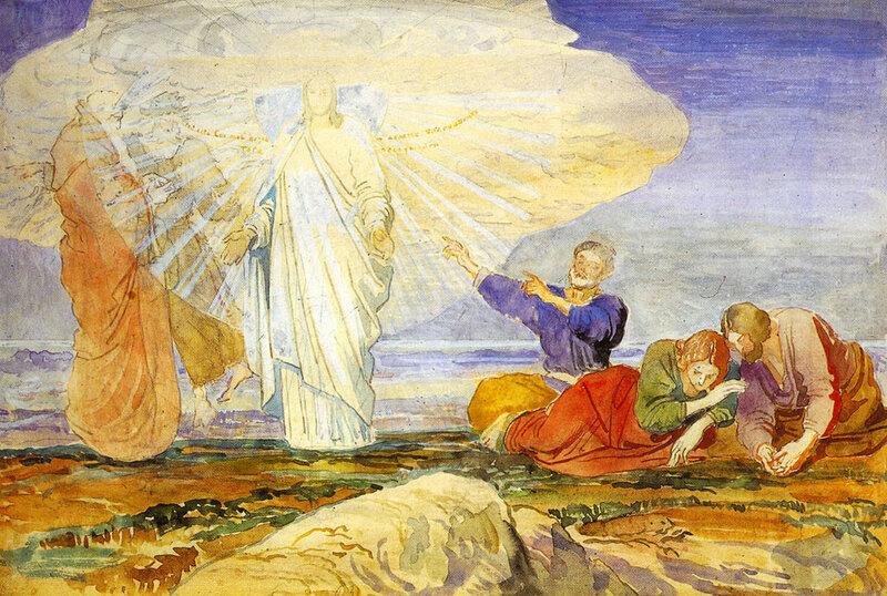Alexandr Ivanov. Transfiguration, 1824