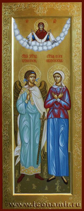 Святая Кира Оболенская и Ангел Хранитель