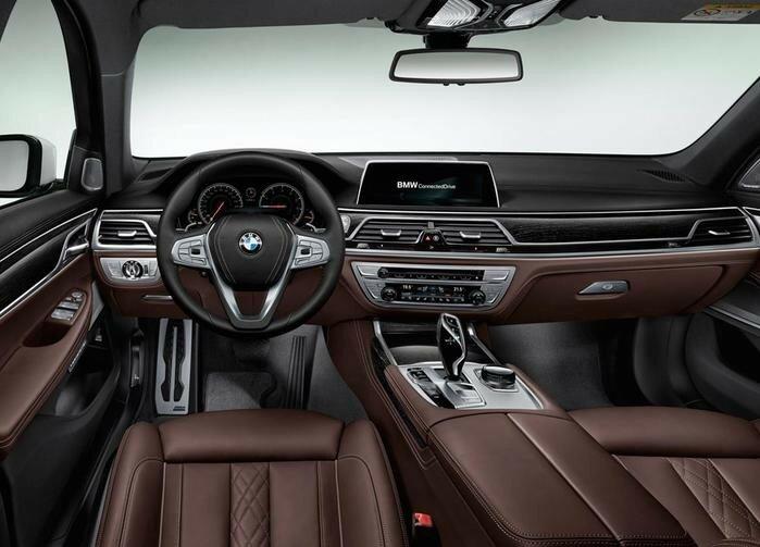 Новый BMW «семерка» 2016 (описание, фото, видео)