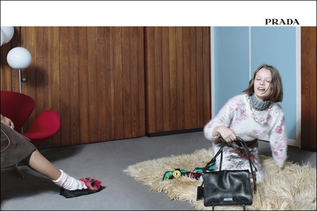 PRADA Encounters Campaign by Willy Vanderperre