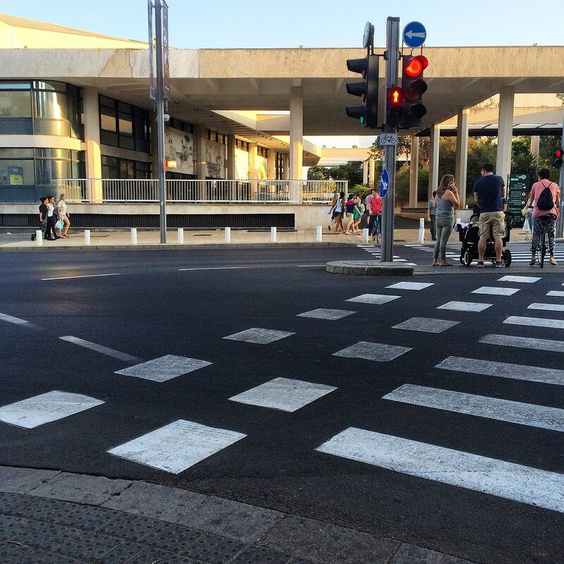 Дорожные развязки Тель-Авива и Рамат-Гана