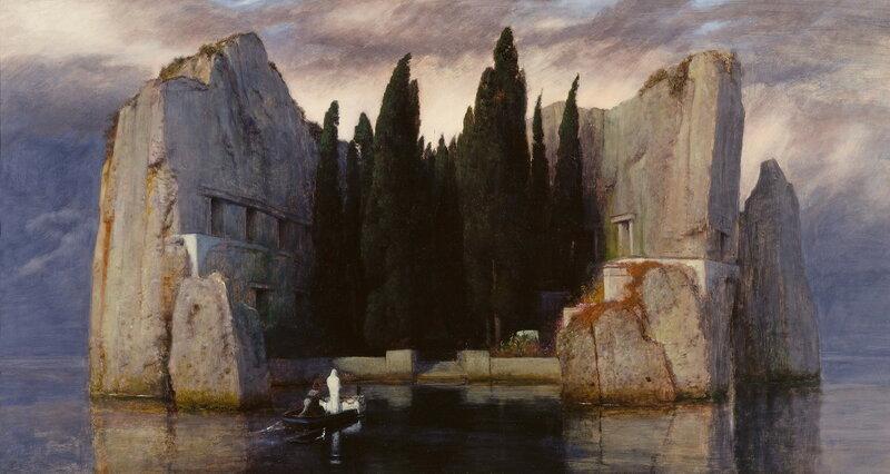 Арнольд Бёклин. «Остров Мертвых» (III версия)
