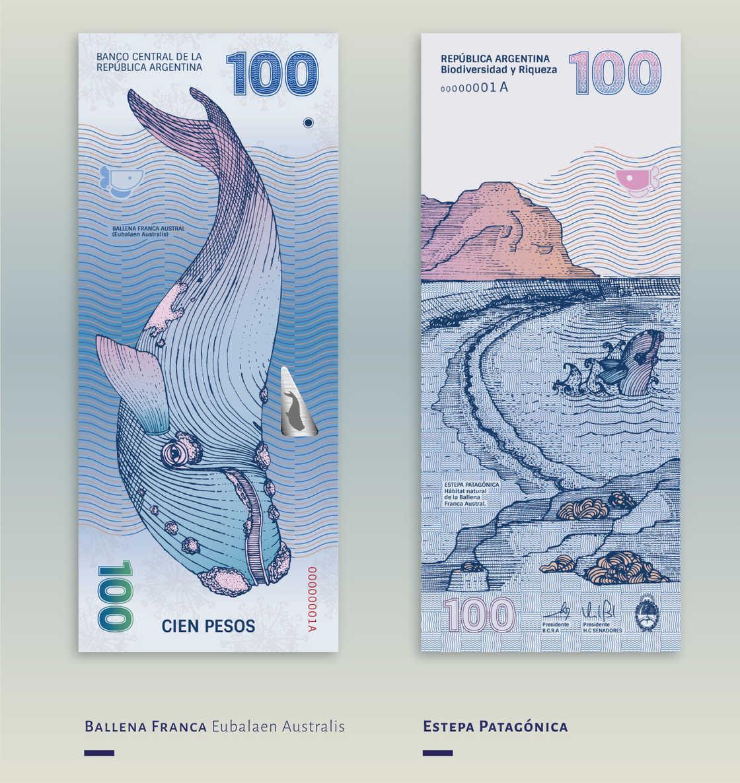 Quand deux designers imaginent les futurs billets de banque argentins