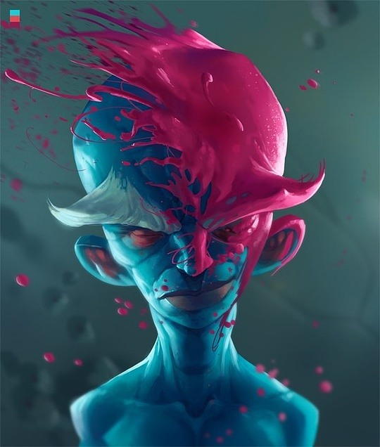 Cool Character Illustrations by Arthur Gimaldinov