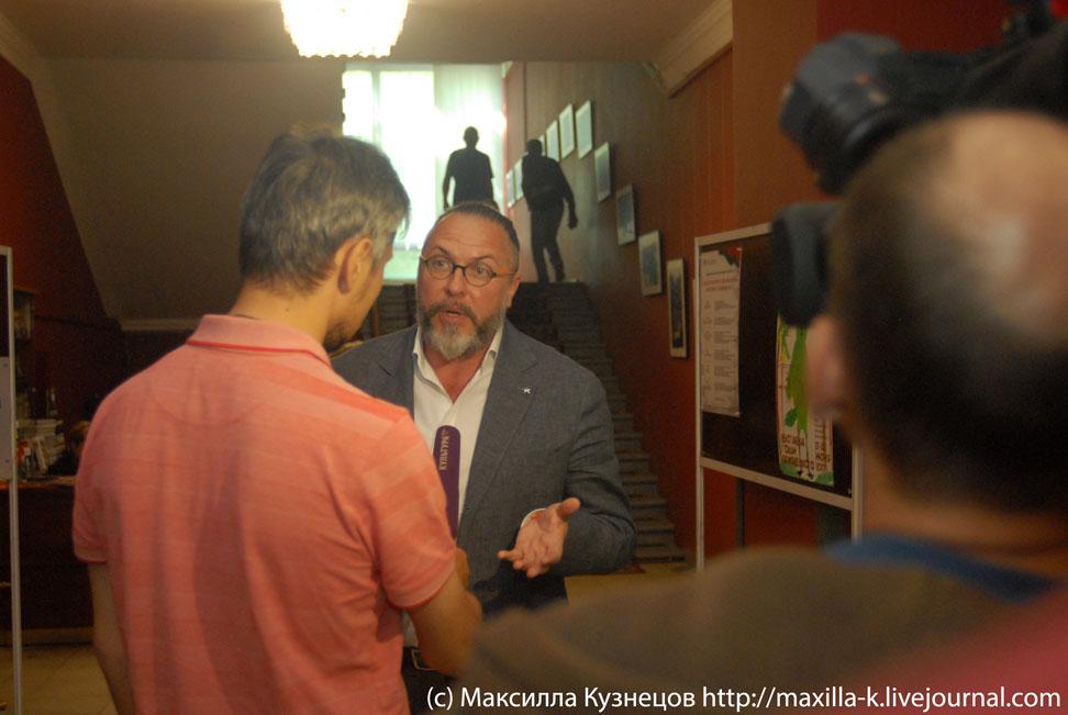 Интервью с Грымовым