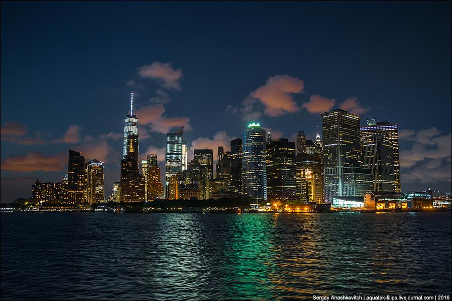 Вечер над Манхеттеном