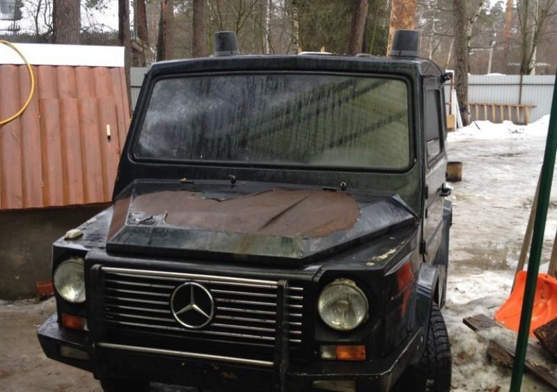 Фейковые Mercedes Gelandewagen