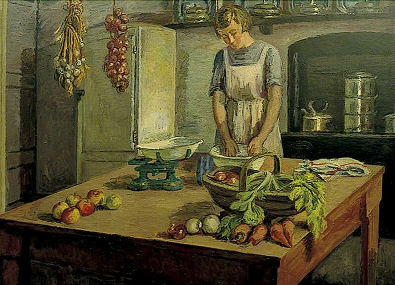 The Kitchen at Charleston, East Sussex
