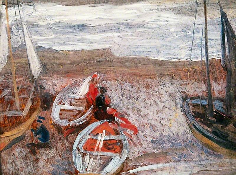 Boats on the Beach, Southwold