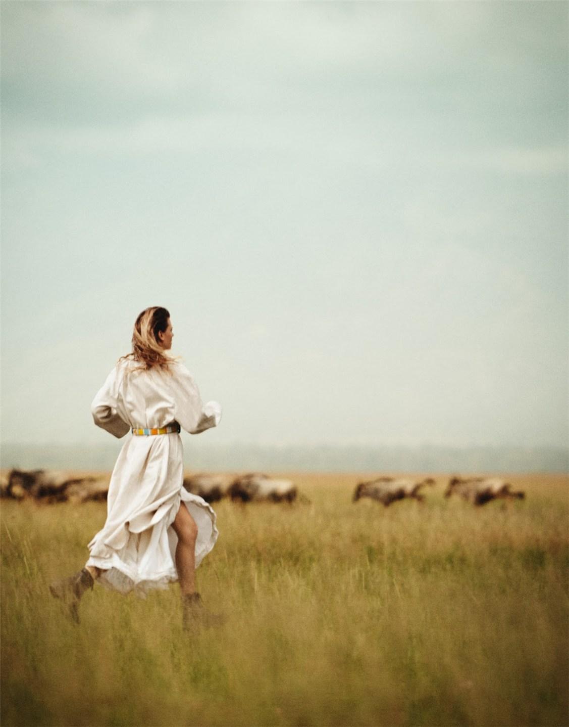 в Африке с Констанс Яблонски / Constance Jablonski by Boo George - Porter summer 2016