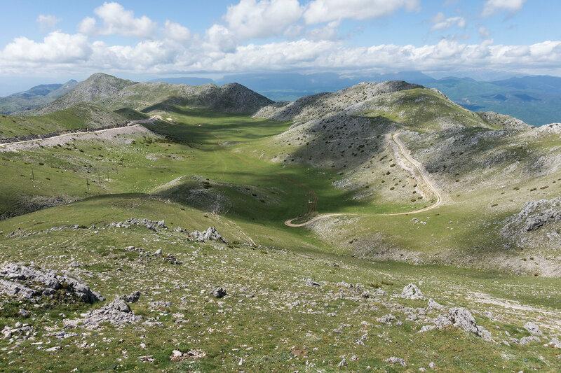 на горе Митсикели (Mitsikeli), Загория, Греция