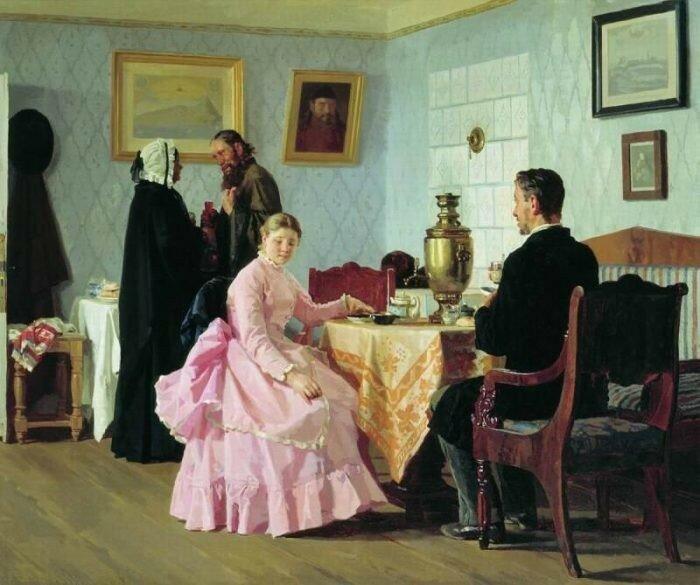 Смотрины.1888      ГТГ