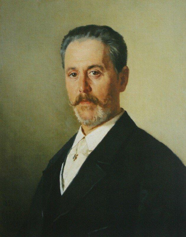 Портрет Я.Ф.Гартунга 1897 ГТГ.