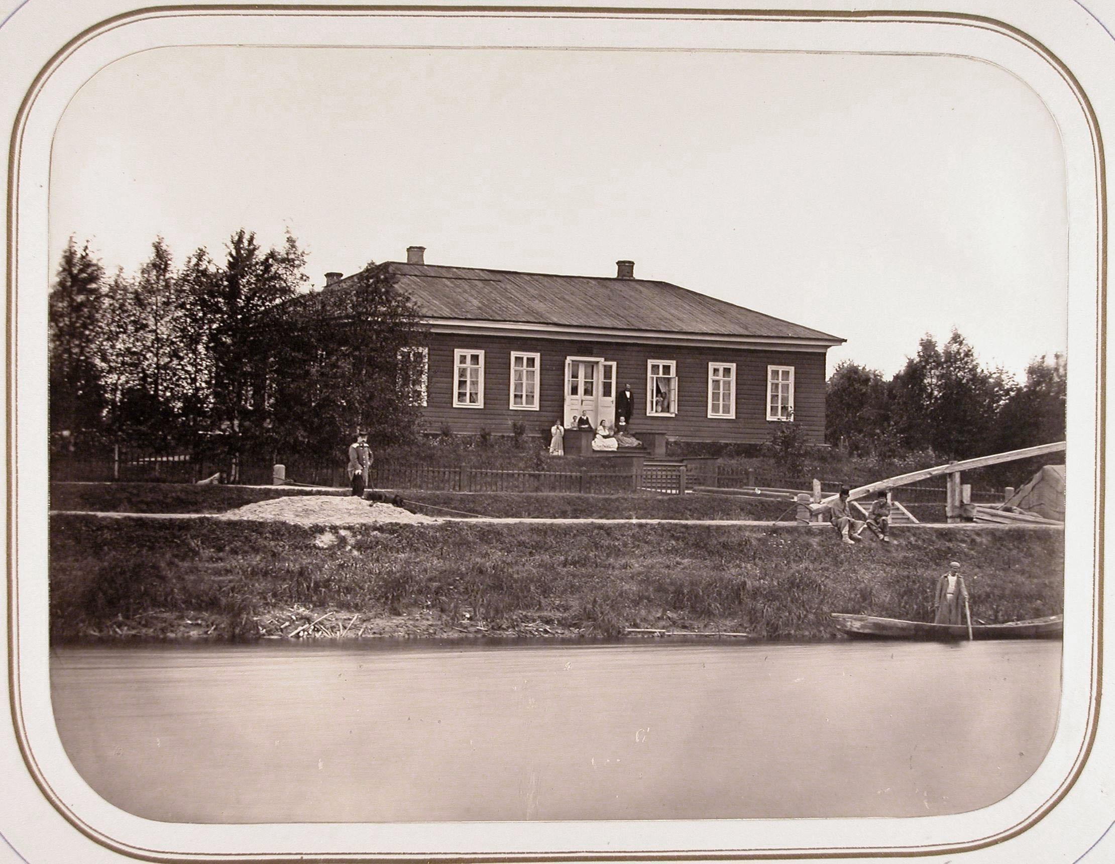Вид на дом начальника дистанции