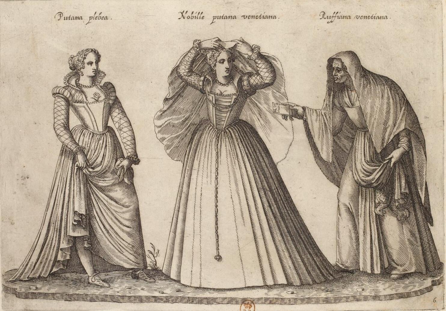 Венеция. Обычная проститука. Куртизанка. Сводня