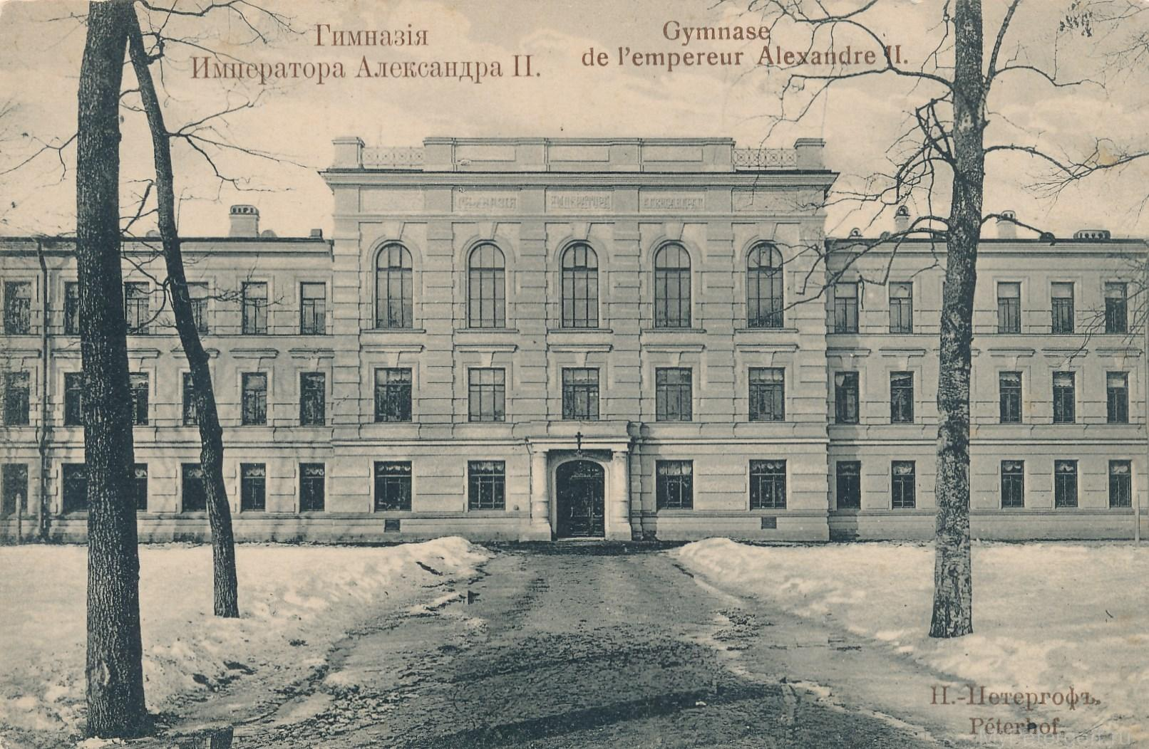 Гимназия императора Александра II
