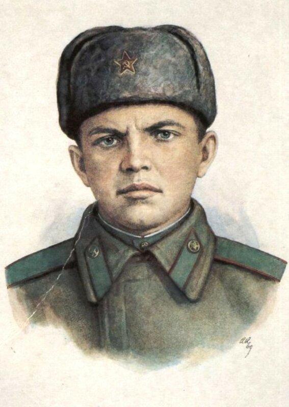«Красная звезда», 12 сентября 1943 года, рядовой Александр Матросов