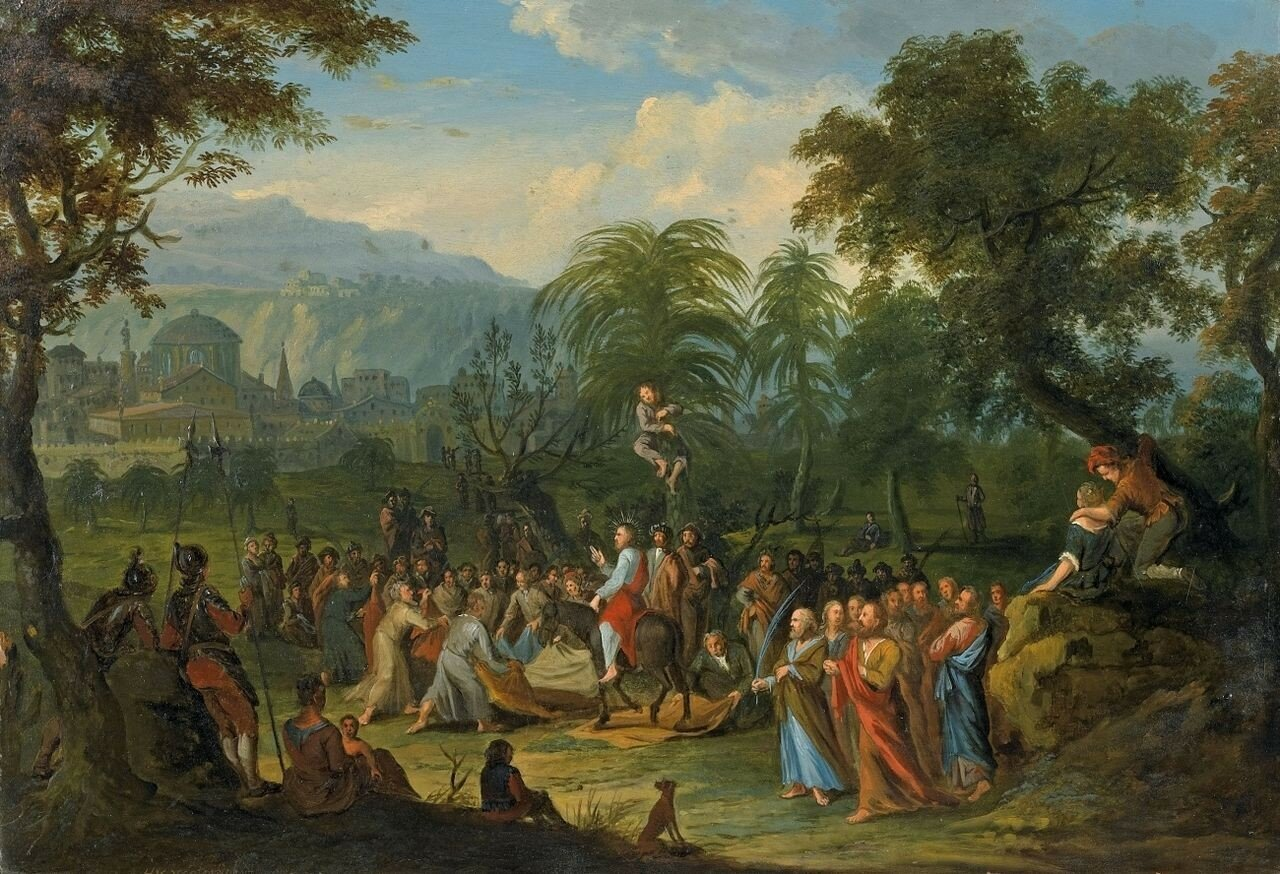 Heinrich_van_Waterschoot_Einzug_in_Jerusalem ум. 1748.jpg