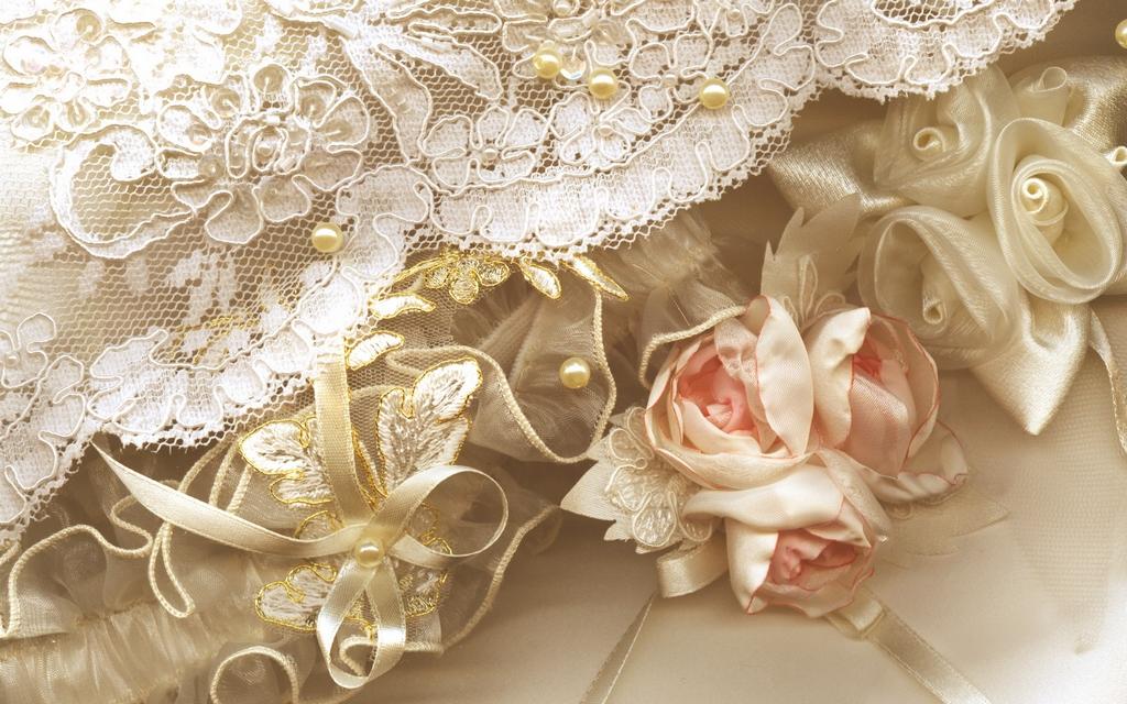 Кружева для свадебных платьев