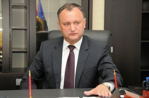 Додон: настало время объединить все части Молдовы