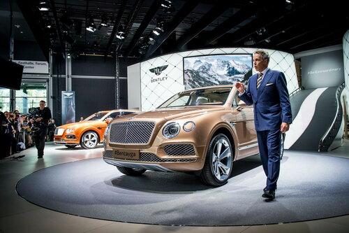 Bentley представила новый внедорожник с дизельным двигателем
