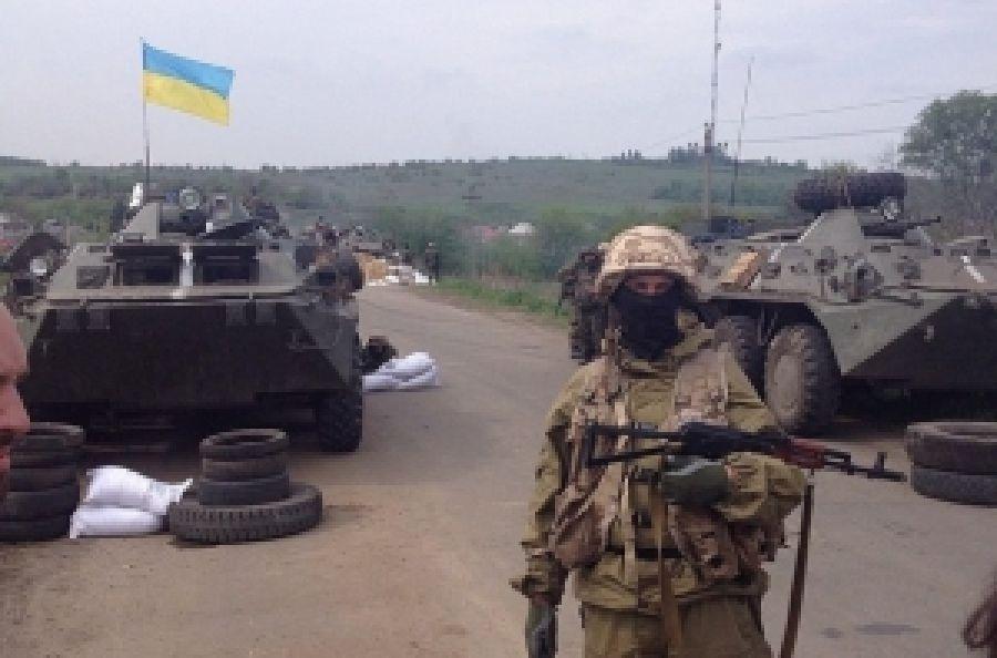 "Террористы взяли с.Коминтерново - ""Азов"""