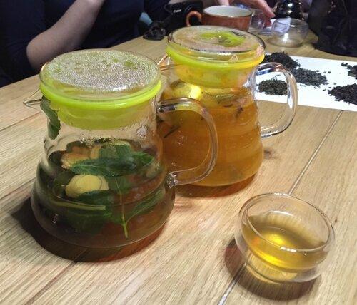 Чайный мастер-класс в кафе Ханки Дори от Анастасии Давыдовой