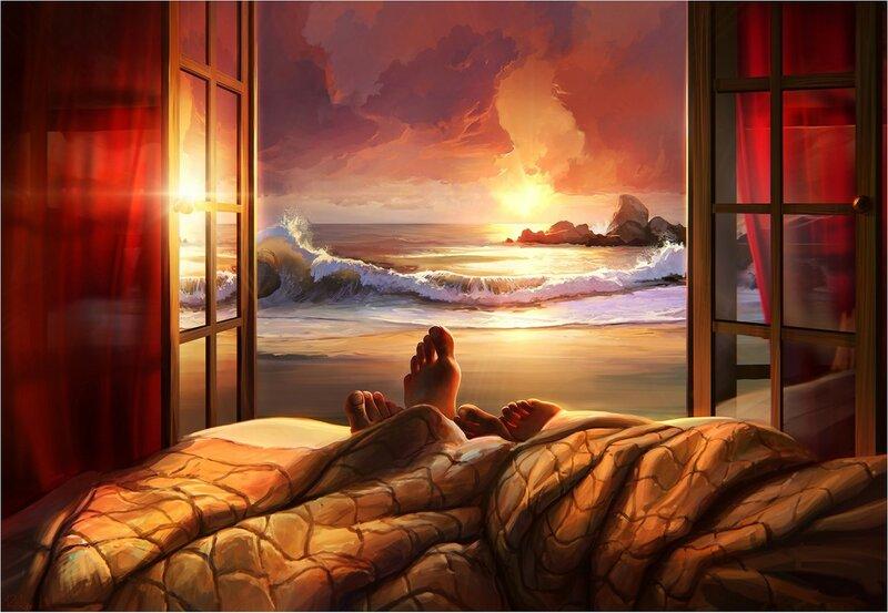 Артём Чебоха (RHADS). Вид на закат