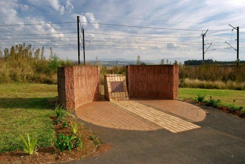 Памятник Нельсону Манделе в ЮАР