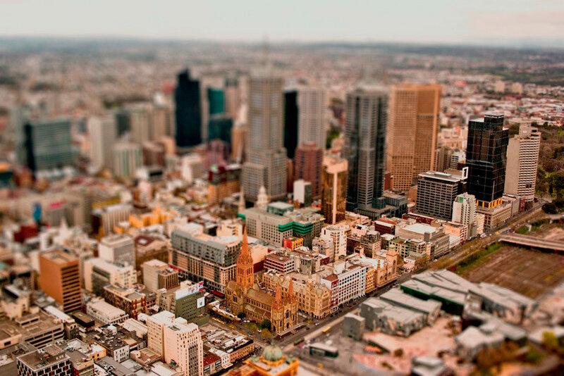 Большие города в миниатюре