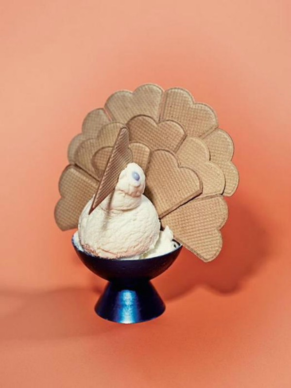 Сара Илленбергер: скульптуры из мороженого (фото)