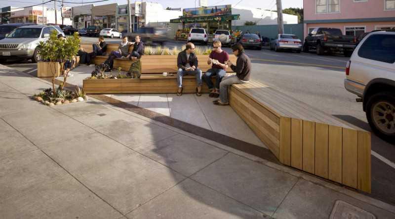 4. Это парклет в Сан-Франциско разработан Matarozzi Pelsinger Design + Build.