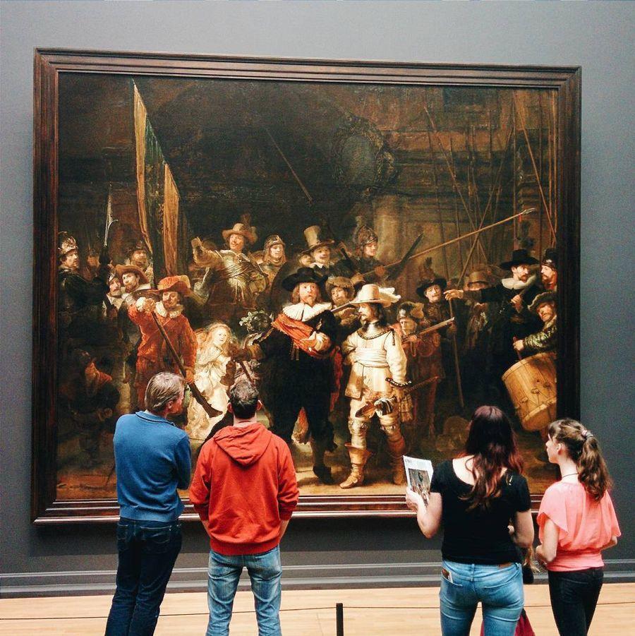 18. Государственный музей (Амстердам, Нидерланды) Центральное место в экспозиции музея, основанного