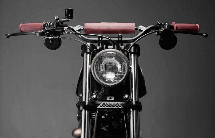 Предел мечтаний Analog Motorcycles. Для придания большего стиля байку Тони заменил руль и сиденье на