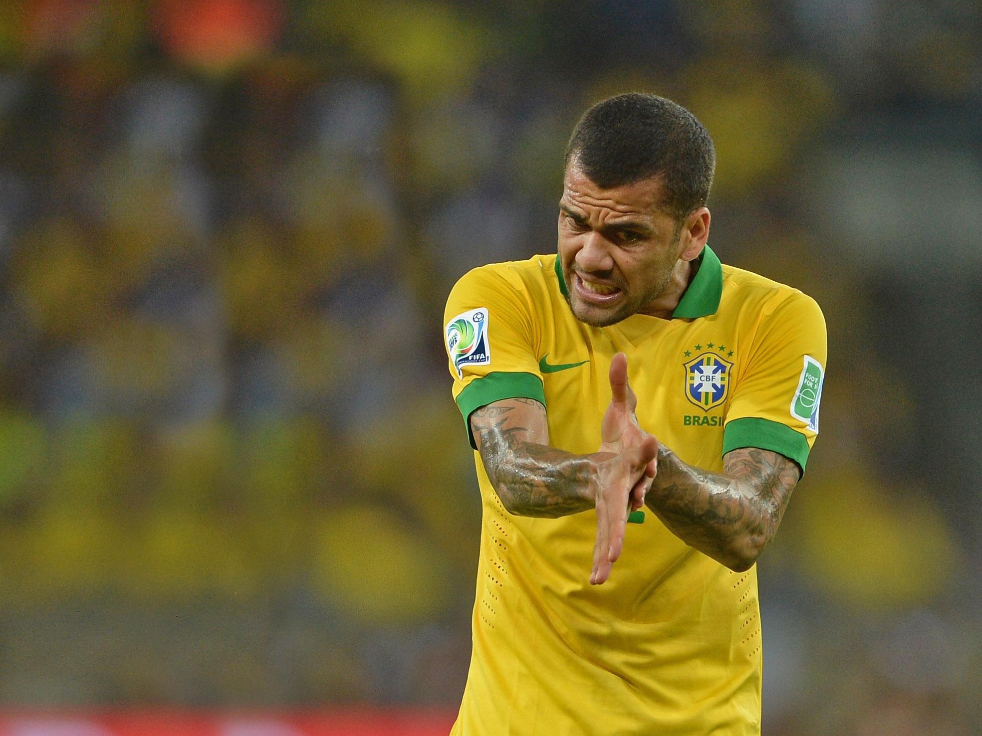 Дани Алвес будет командиром сборной Бразилии вматче против Колумбии