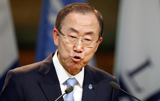Генеральный секретарь ООН призвал кполной реализации минских договоров поДонбассу