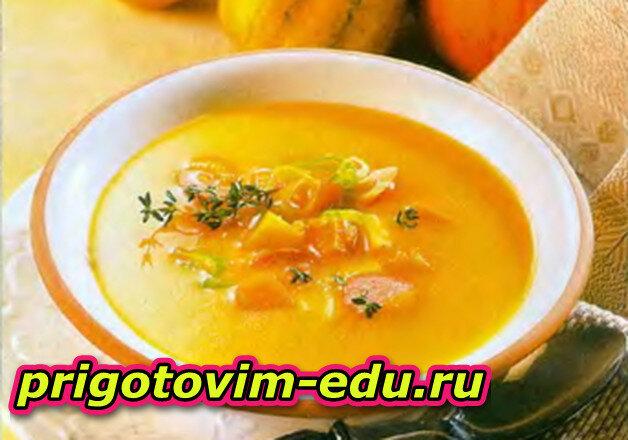 Тыквенно-картофельный суп