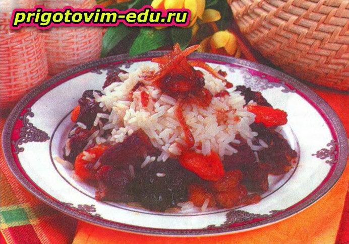 Баранина по-узбекски