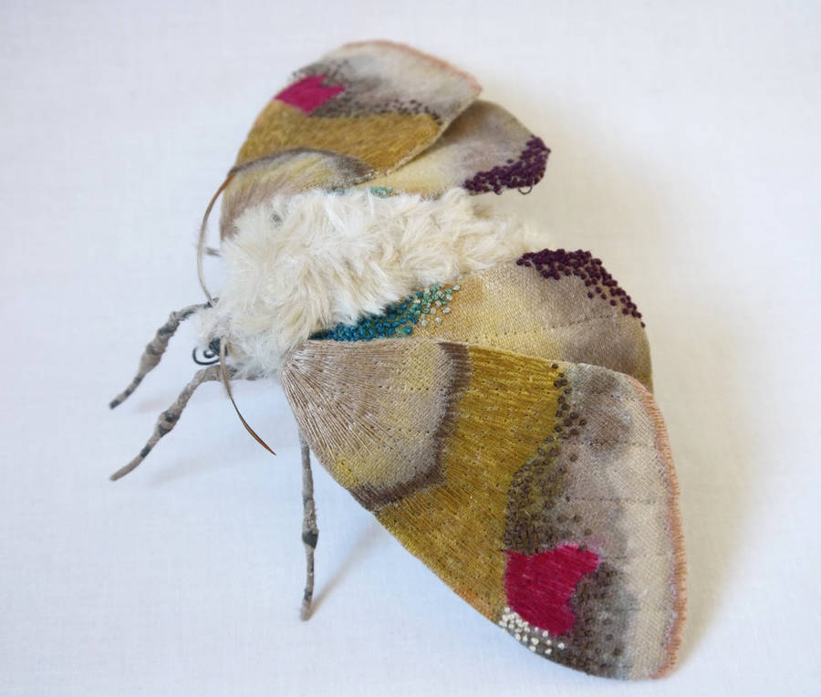 Colorful Textile Butterfly Sculptures