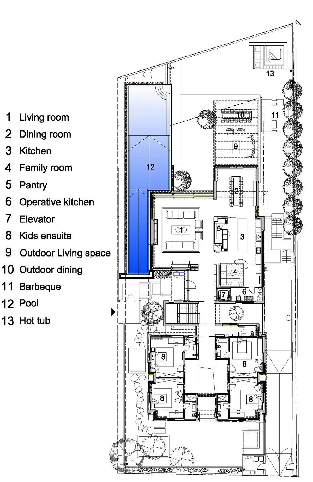 Eran Binderman, Rama Dotan, The B House, дома в Израиле, особняки Израиля, восточные элементы дизайна в интерьере, частный дом с бассейном