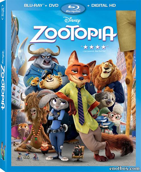 Зверополис / Zootopia (2016/BD-Remux/BDRip/HDRip/3D)