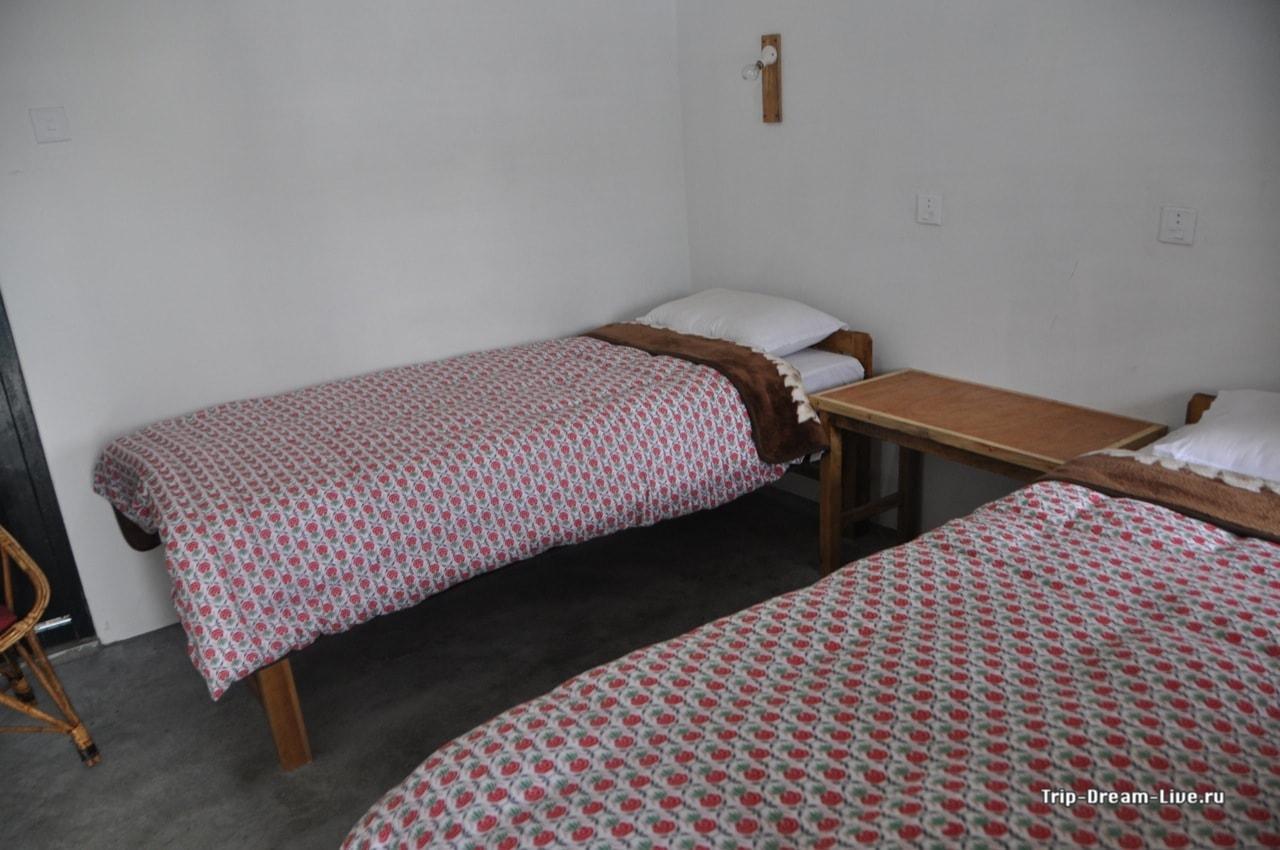 Наш номер в Tadapani Guesthouse