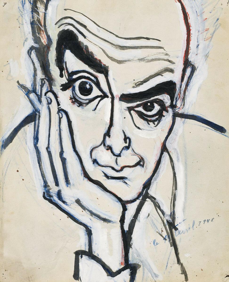 1948. Автопортрет