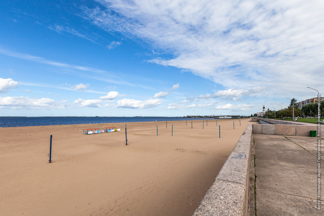 Архангельск Городской пляж