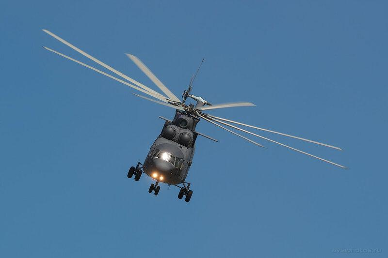 Миль Ми-26 (RF-95568 / 06 желтый) ВКС России 1340_D806504